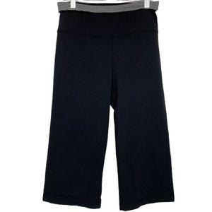 Lululemon Capri Pant in Black/Black & White Check